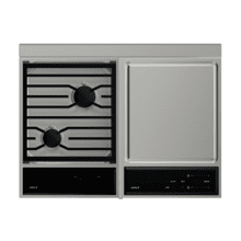 Cooktop/Module Filler Strip for Downdrafts