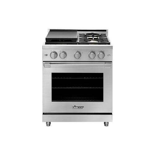 "30"" Gas Pro Range, Color Match Natural Gas/High Altitude"