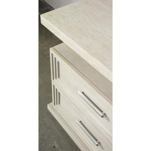 Cascade - Two Drawer Nightstand - Dovetail Finish