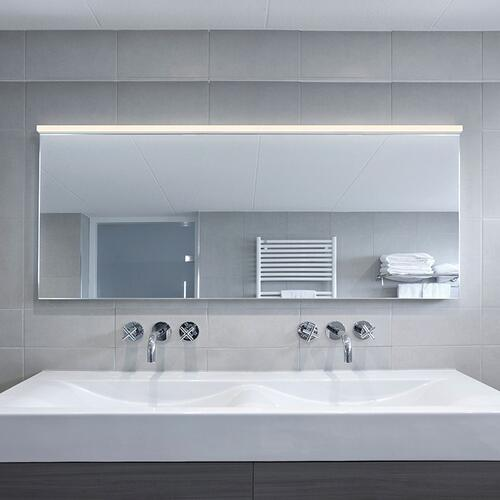 "Sonneman - A Way of Light - Stix Plus LED Wall Bar [Size=48"", Color/Finish=Satin Black]"