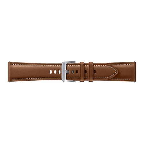 Stitch Leather Band (22MM) Brown