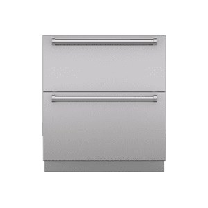 "Integrated 30"" Drawer Panels With Pro Handles"