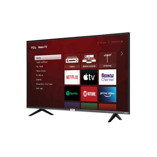 "TCL - TCL 65"" Class 4-Series 4K UHD HDR LED Smart Roku TV - 65S435"