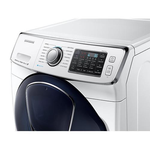 Samsung - 4.5 cu. ft. AddWash™ Front Load Washer in White