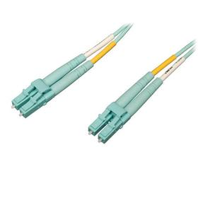 10Gb/100Gb Duplex Multimode 50/125 OM4 LSZH Fiber Patch Cable (LC/LC) - Aqua, 1M (3.28 ft.)