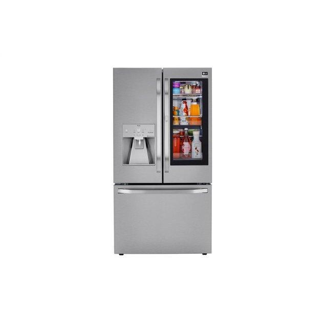 LG Studio LG STUDIO 24 cu. ft. Smart wi-fi Enabled InstaView™ Door-in-Door® Counter-Depth Refrigerator with Craft Ice™ Maker