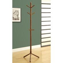 """See Details - COAT RACK - 69""""H / OAK WOOD CONTEMPORARY STYLE"""