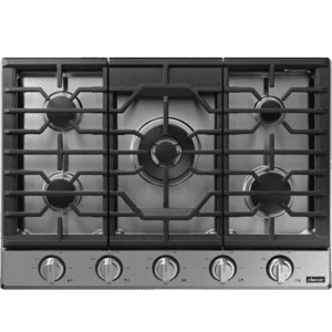 "Transitional 30"" Gas Cooktop, Silver Stainless Steel, Natural Gas/Liquid Propane Product Image"