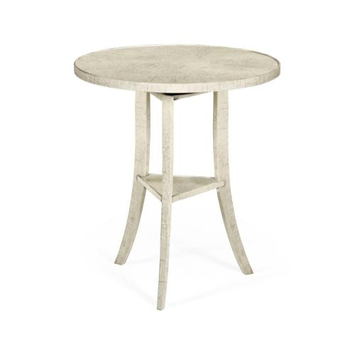 Casual Round Lamp Table