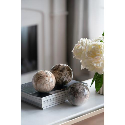 S/3 Marbleized Ball Accents
