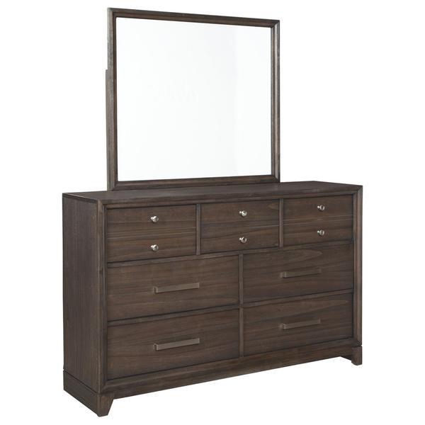 See Details - Brueban Dresser and Mirror