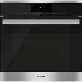 Steam oven with full-fledged oven function and XXL cavity combines two cooking techniques - steam and convection.