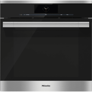 MieleDGC 6765 - Steam oven with full-fledged oven function and XXL cavity - the Miele all-rounder with water (plumbed) connection for discerning cooks.