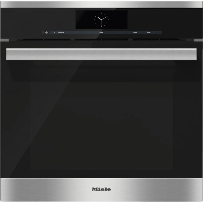 DGC 6765 - Steam oven with full-fledged oven function and XXL cavity - the Miele all-rounder with water (plumbed) connection for discerning cooks.