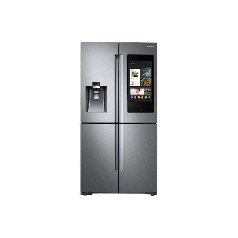 22 cu. ft. Family Hub™ Counter Depth 4-Door Flex™ Refrigerator in Stainless Steel