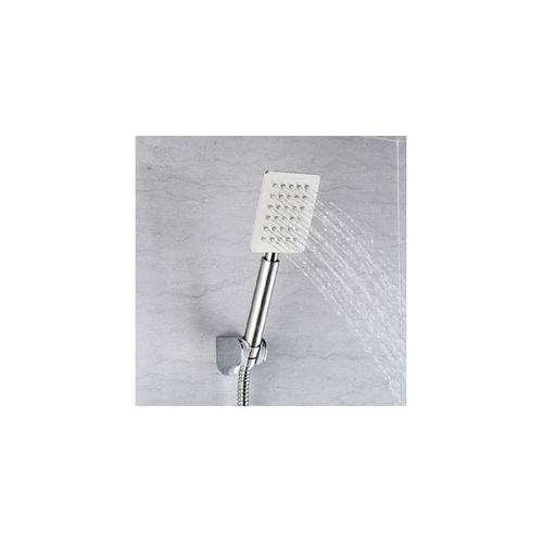 Mountain Plumbing - Square Stainless Steel Bent Hand Shower - Polished Chrome