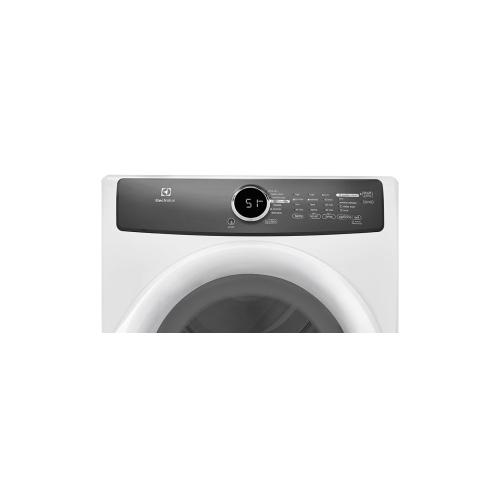 Electrolux - Front Load Perfect Steam Gas Dryer with 7 cycles - 8.0 Cu. Ft.