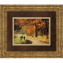 """""""Autumns Morning Light"""" By D. Burt Framed Print Wall Art"""