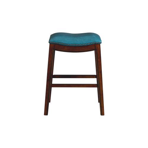 "Fiesta 30"" Backless Bar Stool in Blue"