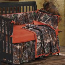 Baby Oak Camo Crib Bumper Set