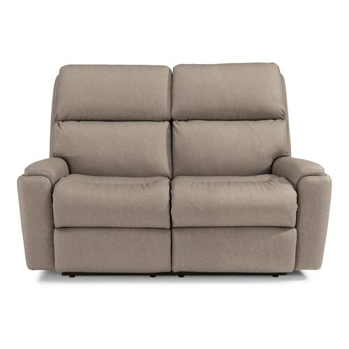 Rio Power Reclining Loveseat with Power Headrests