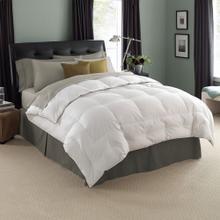 See Details - Deluxe White Goose Down Comforter Full/Queen