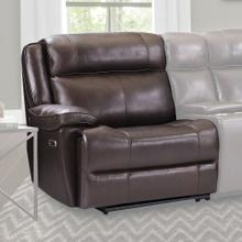 ECLIPSE - FLORENCE BROWN Power Left Arm Facing Recliner