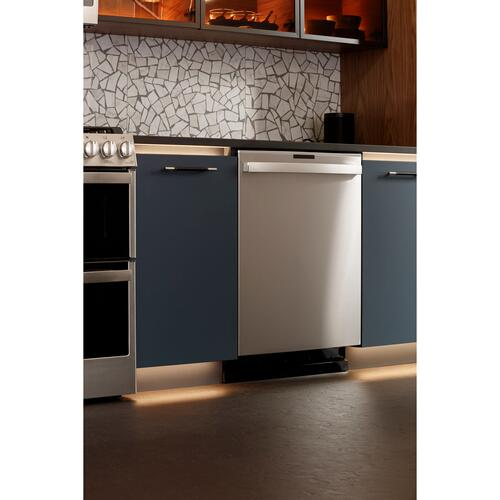 Product Image - GE Profile™ Fingerprint Resistant Top Control with Stainless Steel Interior Dishwasher with Sanitize Cycle & Twin Turbo Dry Boost