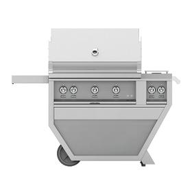 """36"""" Hestan Outdoor Deluxe Grill with Double Side Burner - G_BR__CX_ Series - Steeletto"""