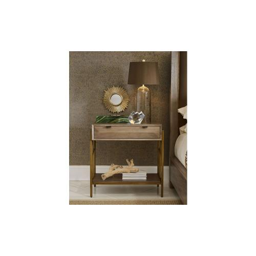 WoodWright Champagne Ennis Nightstand