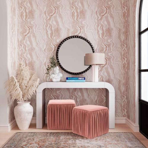 Tov Furniture - Baria Black Wooden Mirror