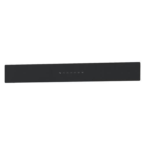 BEST Range Hoods - UCB3 30'' Front Glass Panel Black