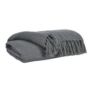 Rowena Grey Throw
