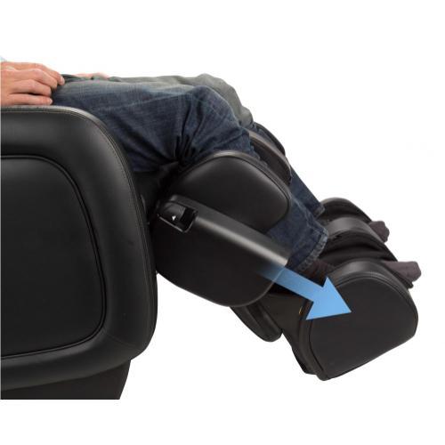 ZeroG 5.0 Massage Chair - Human Touch - BlackSofHyde