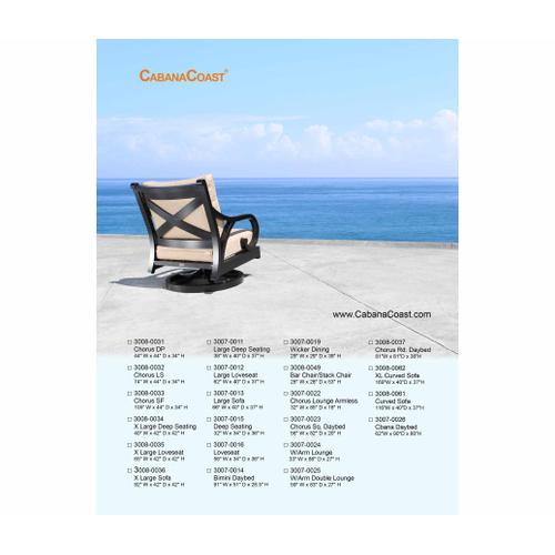 Cabana Coast - Patio Furniture Covers : Chairs, Loveseats, Sofas, Chaise Lounges