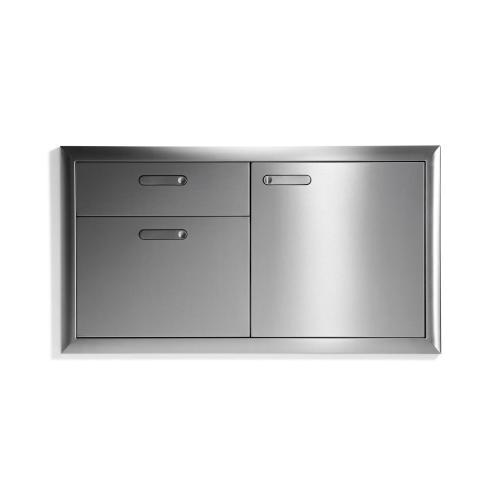 """42"""" Storage door & double drawer"""