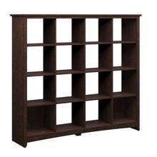 Buena Vista 16 Cube Large Bookshelf - Madison Cherry