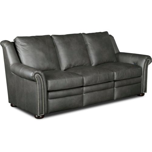 Newman Leather Reclining Sofa