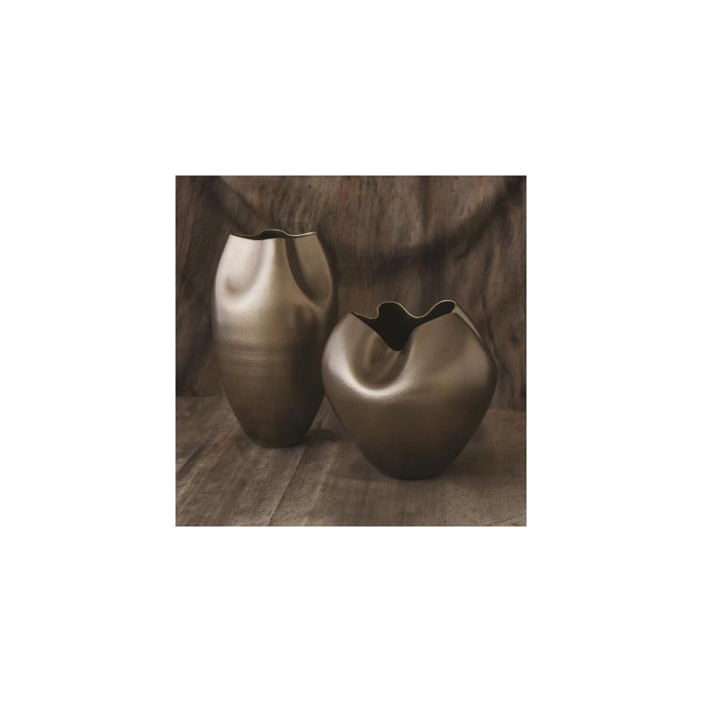 Plait Vase-Silver Haze-Tall