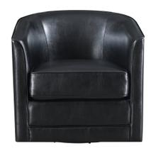 Emerald Home Milo U5029c-04-26a Swivel Chair - Black Bonded#sl-10