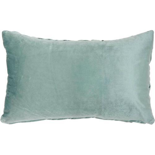 """Life Styles L0064 Celadon 14"""" X 24"""" Throw Pillow"""