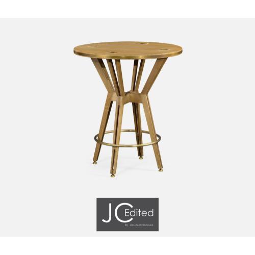 Architectural Circular Bar Table