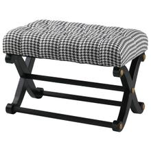 Regency Black Bench