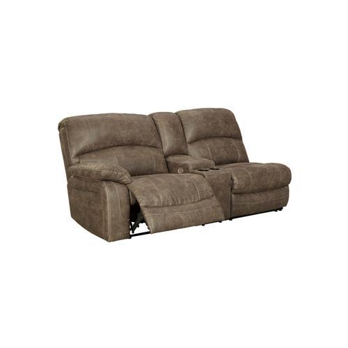 Segburg Left-arm Facing Power Reclining Sofa With Console