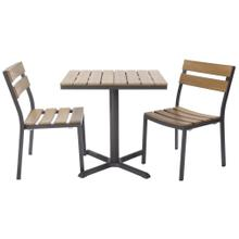 See Details - Asher Outdoor 2-Top Dining Set