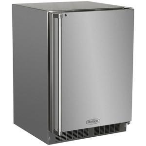 Marvel24-In Outdoor Built-In Refrigerator Freezer with Door Swing - Right