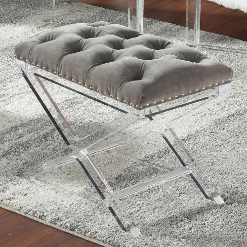 Evoque Bench in Grey