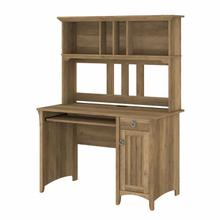 Salinas Small Computer Desk with Hutch - Reclaimed Pine