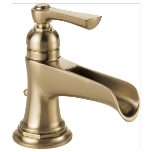 Single-handle Lavatory Faucet With Channel Spout Product Image