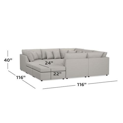 Bassett Furniture - Beckham Pit Sectional